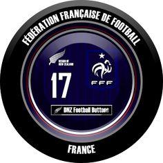 DNZ Football Buttons: Seleção da França