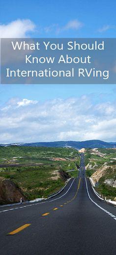 RVing Internationally