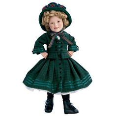 """Shirley Temple """"The Littlest Rebel"""" Doll * To view further for this item, visit the image link. (This is an affiliate link) #DollsAccessories"""