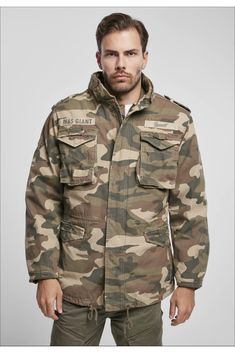 All Weather Jackets, Professional Look, Black And Navy, Woodland, Vintage, Military Jacket, Parka, You Got This, Pockets
