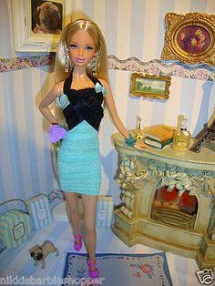 Fashion Set 7 Teilig 7 Parts FÜR for Barbie Basics Model Muse by Nicki | eBay