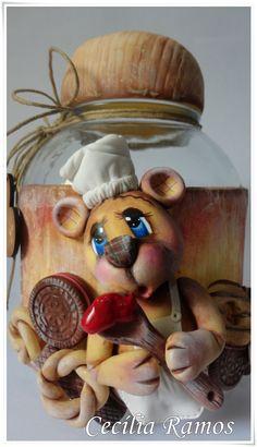 Pote Ursinho Cozinheiro