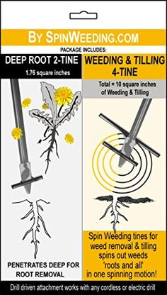 Spin-weeding Dual Tools for Lawns and Gardens * You can get additional details, click the image : Gardening Supplies