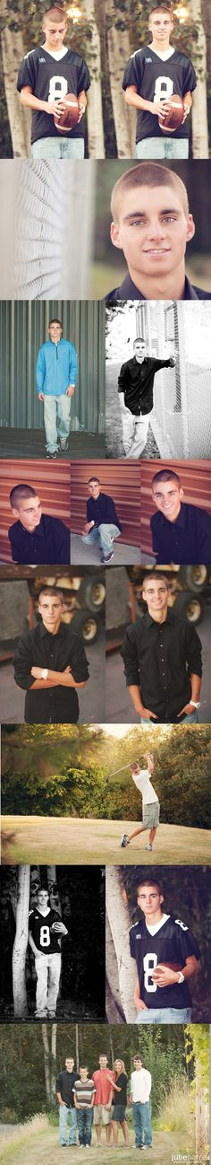Senior Boy Poses/ I cannot believe it's almost time to do this!!