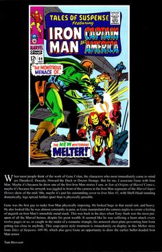 A Tribute To Gene Colan...