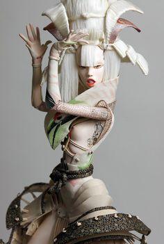 Extraordinary art-dolls by Popovy Katya and Lena