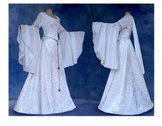 Hey, I found this really awesome Etsy listing at https://www.etsy.com/listing/193129171/elfenhaftes-wedding-gown-dress-inis-elf