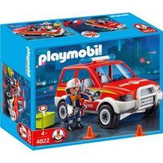 Playmobil 4822 Fire Chiefs Car