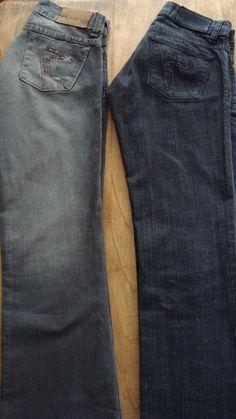 JEANS #TUCCI $150 c/u Talle 22 Muy poco uso! IMPECABLES! Jeans Capri, Pants, Bermudas, Coat Hanger, Sweater Vests, Fall Winter, Trouser Pants, Women's Pants, Women Pants