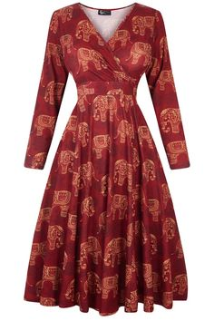 Our most popular Lady Voluptuous Dress is back at Lady V in our Autumn/Winter collection! The...