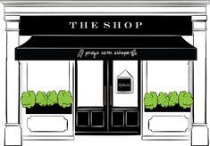 Shop Facade, Outdoor Cafe, Cafe Interior Design, Coffee Shop Design, Shop Fronts, Bathroom Kids, Facade Design, Shop Interiors, Commercial Design
