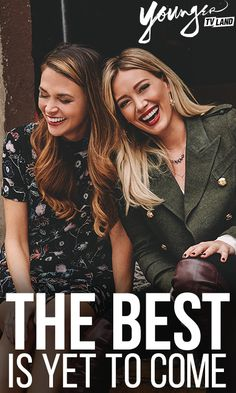 Because you create your future. From the creator of Sex and the City, watch the show that has critics and fans obsessed. Younger stars Hilary Duff, Sutton Foster, Nico Tortorella and Debi Mazar. Season 2 premieres January 13 10/9C. Click here to watch a preview!