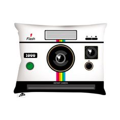Aksel Varichon: Instant Camera Pillow 16x12