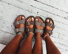 pin ☆ riverferrarii summer birks birkenstock is part of Shoes - Cute Shoes, Me Too Shoes, Summer Shoes, Summer Outfits, Summer Sandals, Just Keep Walking, Estilo Hipster, Birkenstocks, Summer Aesthetic