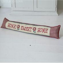 Home Sweet Home Padded Draft Excluder