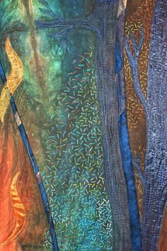 Anna Hergert of Moose Jaw, Saskatchewan, Canada | Weekly Artist Fibre Interviews | Fibre Art | International | Canadian | World of Threads Festival | Contemporary Fiber Art Craft Textiles | Oakville Ontario Canada ****