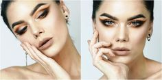 Look 16 by taynábaracho - Eye Parts, Linda Hallberg, Eyeshadows, Photo Editor, Beauty Makeup, Window, Make Up, Paint, Health