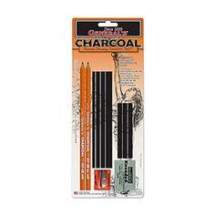 General's Charcoal Drawing Assortment Set - Shop Online - Art & Craft | Art Supplies | Craft Supplies | Kid's Craft & Art | Craft Projects | Art Materials | School Art Supplies