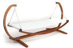 hamac leroy merlin en bois massif, meubles de jardin pas cher