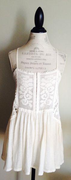 Crochet detail camisole by BohoAngels
