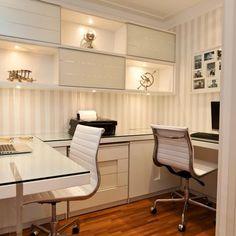 """Home Office Projetos Diversos Emerson Vaz Viva Decora - 42376"""