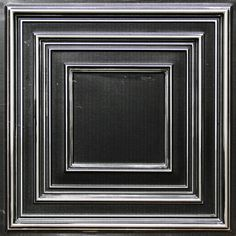"Faux Tin Ceiling Tile - 24""x 24"" #222"