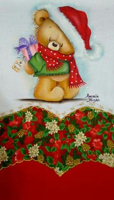 Oso con regalos                                                                                                                                                                                 Más                                                                                                                                                                                 Más