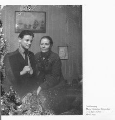 Andrei with his mother