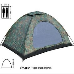 Waterproof 2 Person 3 Season Camouflage Dome Tent Easy Setup Outdoor Tent for Camping Hiking with Carry Bag * Read more  at the image link.