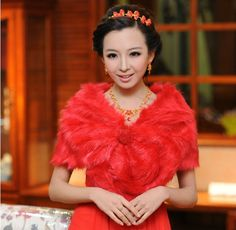 Aliexpress.com : Buy Fashion Women Free Size Red Cotton and Microfiber Bridal Wedding Wraps from Reliable fashion women suppliers on HONEYSTORE CO., LIMITED $31.99