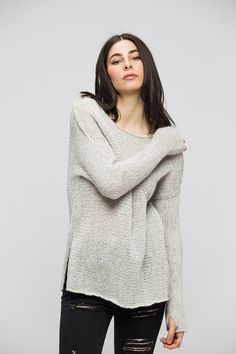c359e9fe9 151 Best Oversized knit sweaters by Roseuniquestyle images in 2019