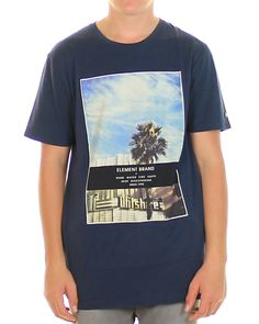 Inseption - Element- Mens - BLVD Tee - Raw Blue