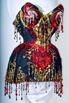 @Niki Jackson, if you're checking out corsets, look at this one. it has boobie tassels.