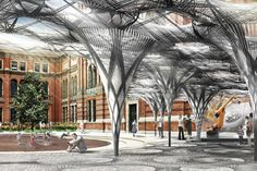 This Week in Tech: A Bio-Inspired Pavilion for the Victoria and Albert Museum | Architect Magazine | Technology, Research, Installation, Sports Projects