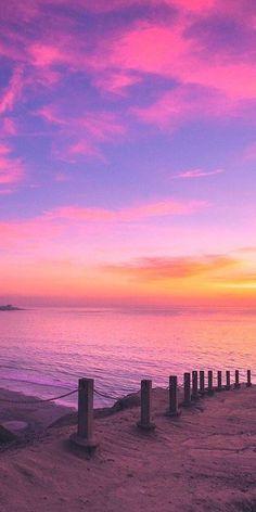 HD wallpaper Cooper Copii: Most beautiful nature wallpaper for everyone Beach Sunset Wallpaper, Summer Wallpaper, Iphone Wallpaper Sky, Pink Wallpaper, Pastel Sunset, Sunset Sky, Pretty Sky, Beautiful Sky, Beautiful Beaches