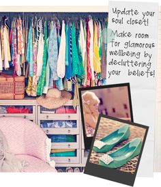 Peek into your sparkle closet!
