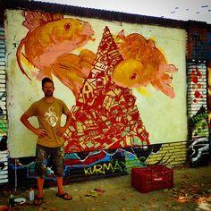 #streetart en Poblenou Barcelona work in progress  Foto:#estorninos1 #streetartoficial ##fans_del_arte_urbano  Foto:#estorninos1 #streetartoficial #streetartphotography #graffitiart #art #graffiti #stencil #urbanart #streetartbcn #streetart_london #barcelonagraffiti #streetarteverywhere #spraypaint #murslliures #street_art_hunter #rsa_graffiti #dbs_graf #tv_streetart #arteurbano #artalcarrer #arteenlascalles #arteurbanobarcelona #urbangraffitisbcn #street2lab…