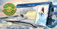 Brother International - Home Sewing Machine and Embroidery Machine THE Dream Machine™ Innov-is XV8500D