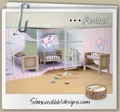 | SIMcredible! Designs 3 | TOP quality Content for sims games Amina kids room and nursery