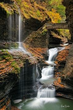 Second only to Niagara Falls, the falls at Watkins Glen, New York have got to be the most photographed and photogenic in NY State.