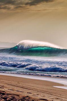 Cell phone wallpaper She and The Ocean beautiful ocean art waves Ocean Art, Ocean Life, Sea And Ocean, Ocean Beach, Palm Beach, Photos Voyages, Beautiful Ocean, Beautiful Beaches, Sea Waves
