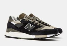 Olive green is everywhere this season in the sneaker world, with basically every model on Earth new or old getting the muted green tone somewhere on its upper. The New Balance 998 is the next model added to the list, … Continue reading →