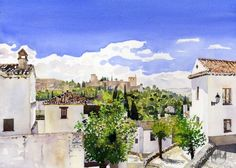The Alhambra from the Albaicin