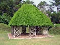 Growing climbing plants is a perfect idea to enhance your beautiful garden and create a gorgeous Green gazebo that emphasizes a romantic ambiance Garden Art, Garden Design, Topiary Garden, Garden Gazebo, Garden Cottage, Landscape Design, Living Willow, Architecture Résidentielle, Sustainable Architecture