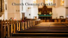 Church Cleaning Checklist - Desert Oasis Cleaners Hardwood Floor Wax, Clean Hardwood Floors, Desert Oasis, Bible Study Materials, Duct Cleaning, Cleaning Hacks, Church Lobby, Clean Air Ducts, Office Floor