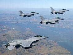 Lockheed-Martin F-16A/B fighters