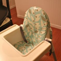 As far as highchairs go, the IKEA's Antilop rocks. Its compact, all plastic (yay for easy clean-up!), and slides perfectly right up to o...