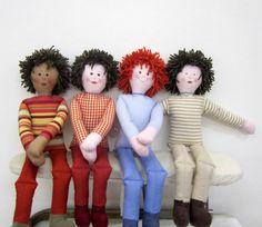 Doll - Boy -Handmade - stuffed $20