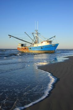 Kiawah Island Shrimp Boat - Charleston South Carolina SC