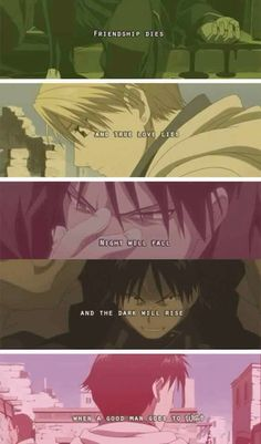 Riza Hawkeye and Roy Mustang        _Fullmetal Alchemist Brotherhood